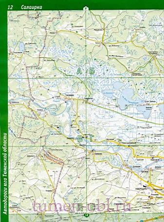 Карта тюменского района тюменской области. большая подробная.